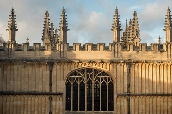 Exterior and skyline of the Old Bodleian Library