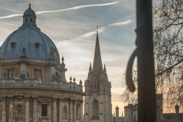 Radcliffe Square at sunset