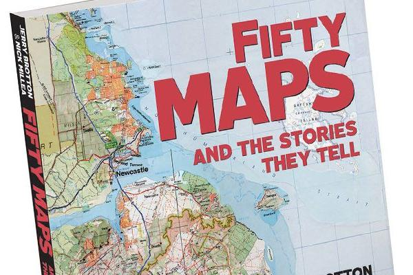 Book cover: 'Fifty Maps and the Stories They Tell'
