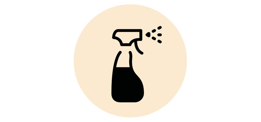 Cleaning bottle icon