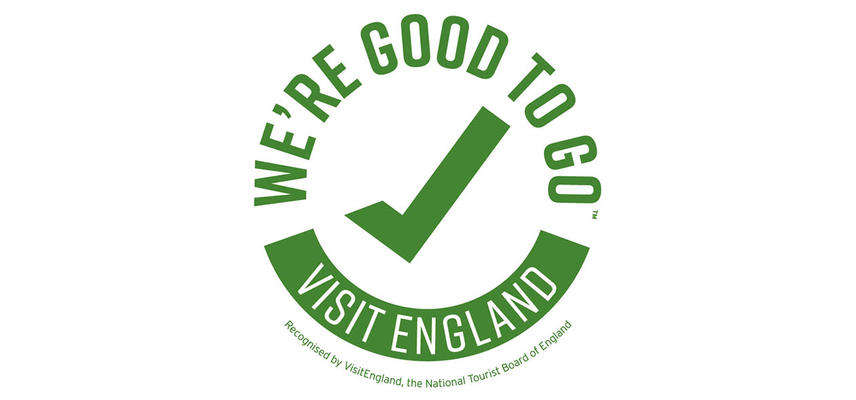 The We're Good to Go logo from Visit England